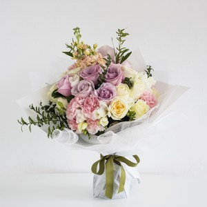 Deluxe Pastel Flowers Bouquet