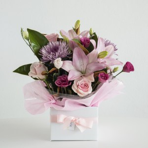 PInk Box Arrangement