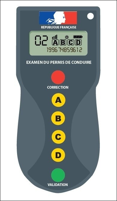 Nouvelle Télécommande Examen Code de la Route