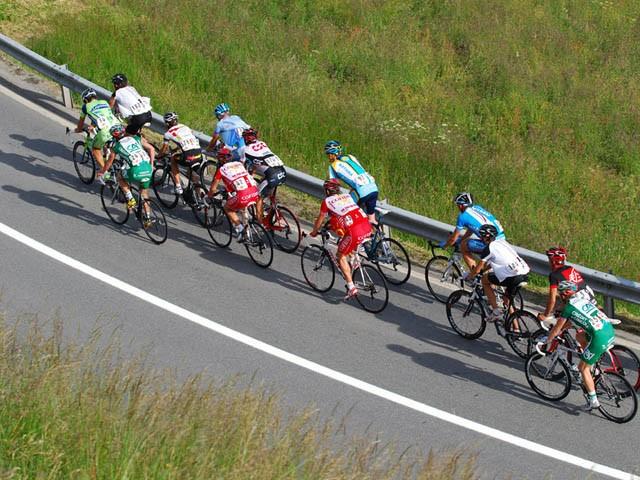 Groupe de Cyclistes
