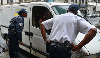 Des contrôles routiers en Martinique avec le nouveau PV électronique
