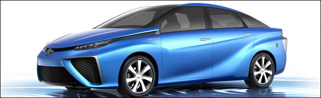 Toyota FCV 2013 présentée au Salon de Tokyo