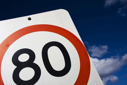 La vitesse réduite à 80 km/h sur les routes secondaires