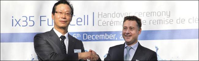Air Liquide et Hyundai pour les premières voitures à hydrogène en série
