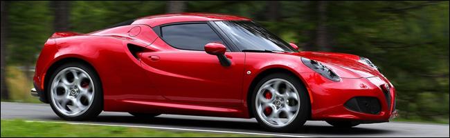 Alfa Romeo 4C : « Plus Belle Voiture de l'Année 2013 »