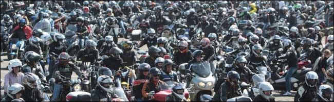 Mobilisation contre la limitation de vitesse