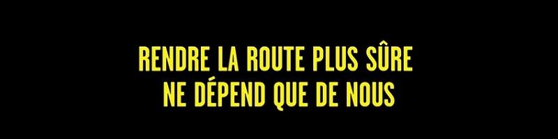 Slogan sécurité routière