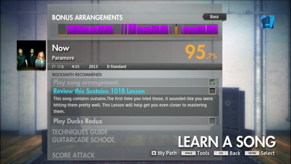 Rocksmith Recommends