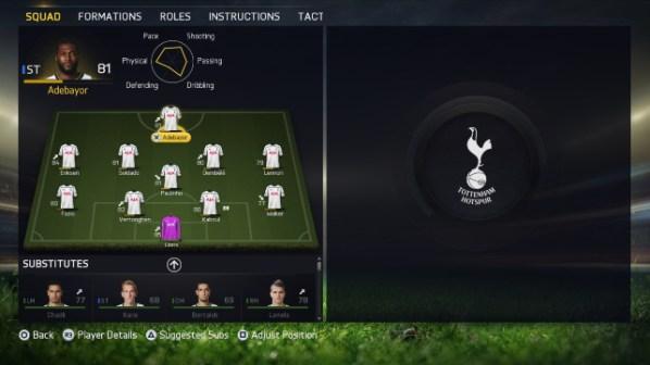 FIFA 15 Career (In Menus)