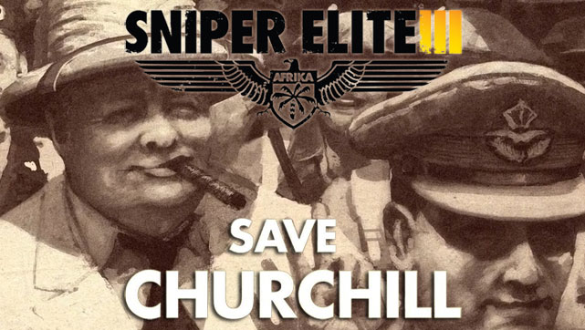 Sniper Elite III - Save Churchill