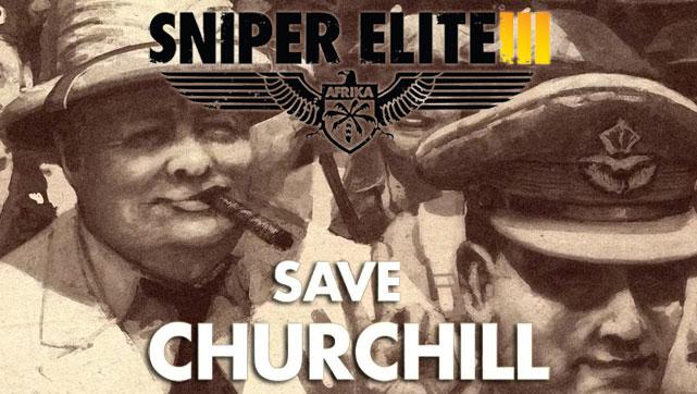 Sniper Elite III - Save Churchill