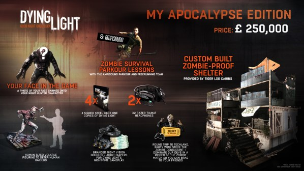Dying Light My Apocolypse Editon sml