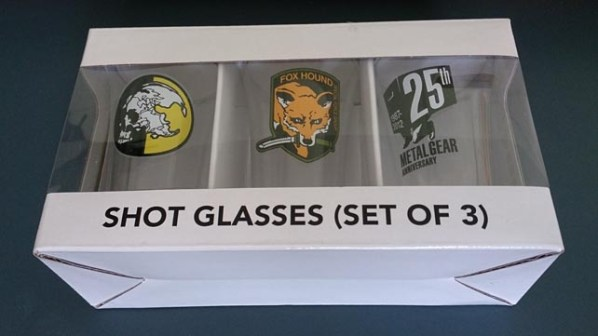 MGS Shot Glasses