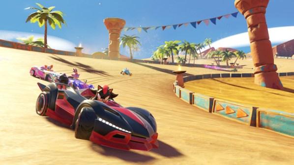 Team Sonic Racing Sand