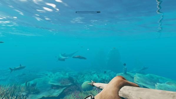 Stranded Deep underwater