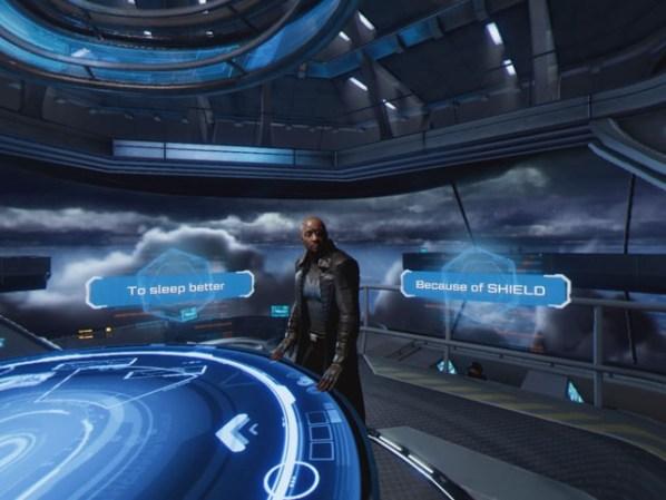Marvel's Iron Man VR Nick Fury