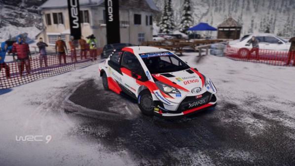 WRC 9 Showroom