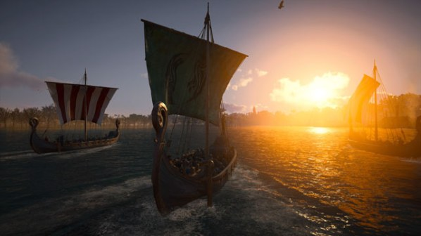 Assassins Creed Valhalla Sailing