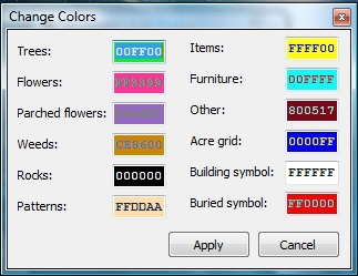 Actoolkit guide code donut you can change how the colors of what each square represents when your editing your town by typing in a different number aka hexadecimal gumiabroncs Image collections