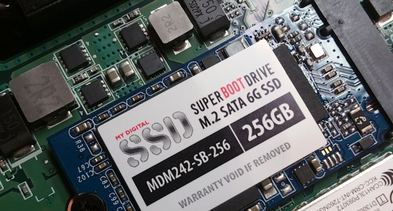 SSD upgrade in Toshiba Chromebook 2 (2015)