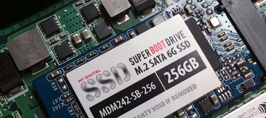 SSD upgrade in Toshiba Chromebook 2 (2015)