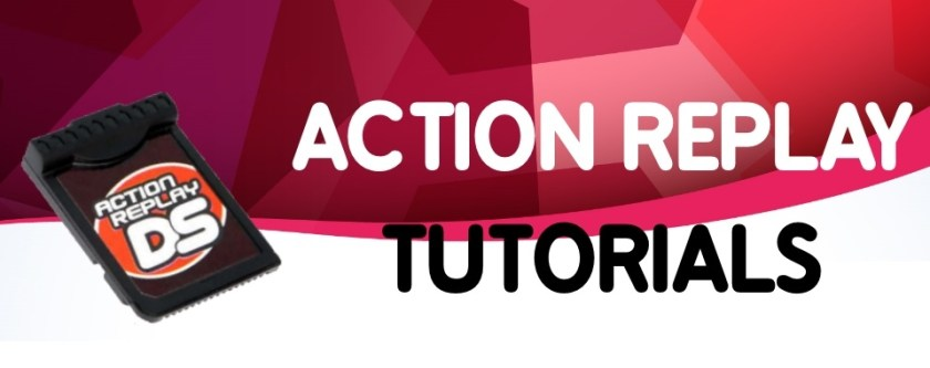 Action Replay DS Tutorials