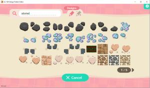 Animal Crossing: New Horizons Design Pattern Editor