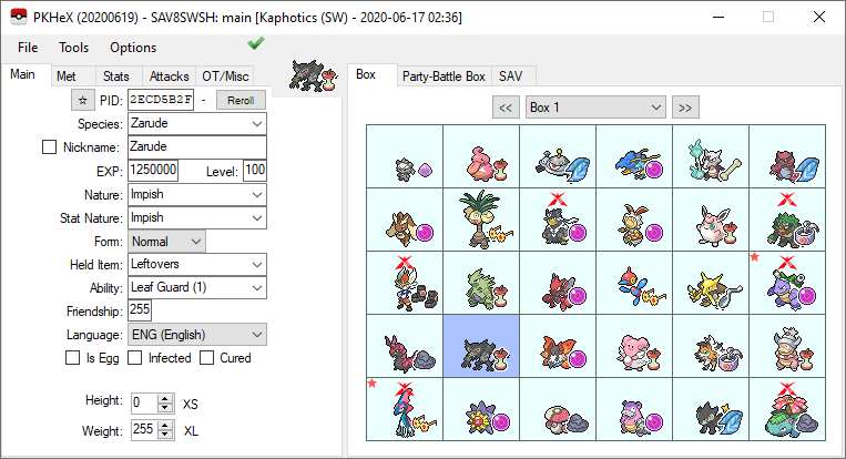 PKHex for Switch Pokemon Hacks