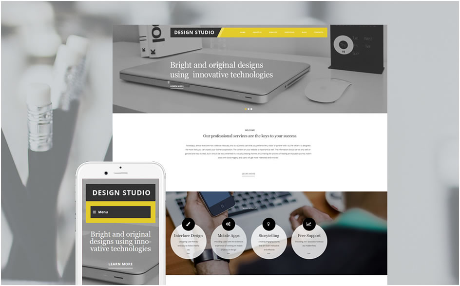 Design Studio WordPress Theme