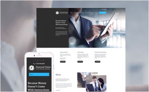 Financial Vision WordPress Theme