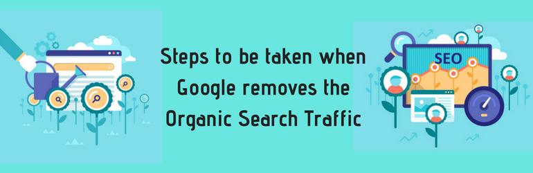 What Do SEOs Do When Google Removes Organic Search Traffic