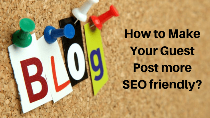 Facebook Post How to Make Your Guest Post more SEO friendly