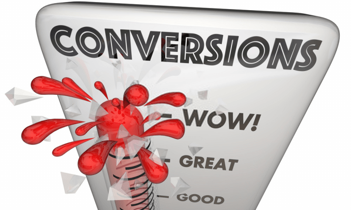 Higher Conversion Rate