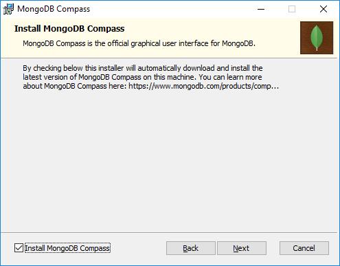 Compass, GUI de MongoDB