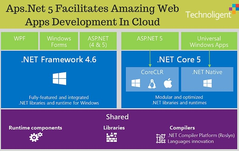 Aps dot Net 5 Facilitates Amazing Web Apps Development In Cloud