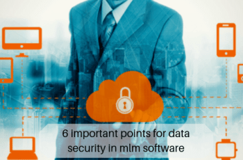 6 important points for data security in mlm software