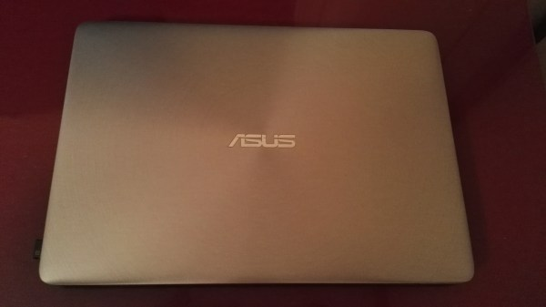 Front of the ZenBook