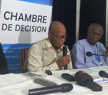 Election présidentielle 2015 : La CODEL confirme les résultats de la CENI
