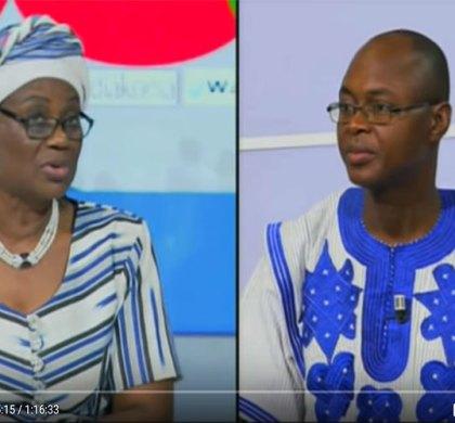 Dialogue citoyen du 16 janvier 2018 avec Rosine Sori-Coulibaly, Madame la Ministre de l'Economie et des Finances