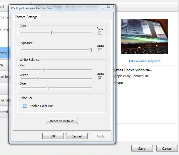 Sony PS3Eye Camera DirectShow Capture Source Filter *Update