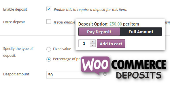 WooCommerce Deposits v2.3.0 - Partial Payments Plugin