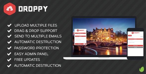 Droppy v2.0.9 - Online file sharing - nulled