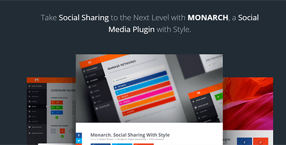 Monarch v1.4.13 - A Better Social Sharing WP Plugin