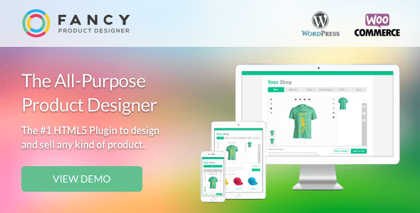 Fancy Product Designer v3.9.7 - WooCommerce plugin
