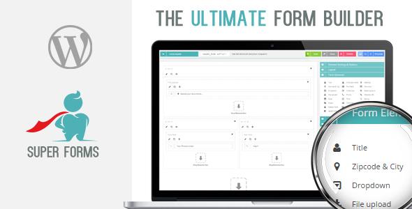 Super Forms v3.0.0 – Drag & Drop Form Builder