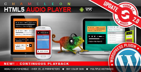 HTML5 Audio Player WordPress Plugin v3.0