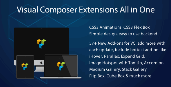 Visual Composer Extensions Addon All in One v3.4.9.3