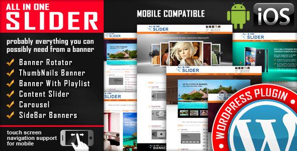 All In One Slider v3.7.4 - Responsive WordPress Slider Plugin