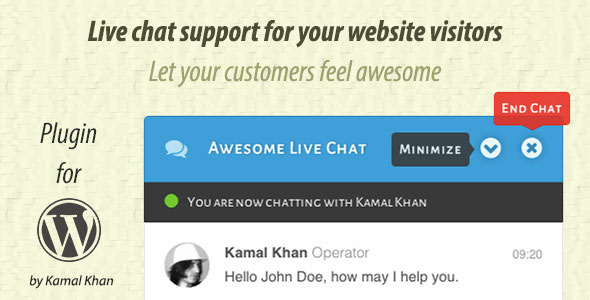 Awesome Live Chat 1.4.2
