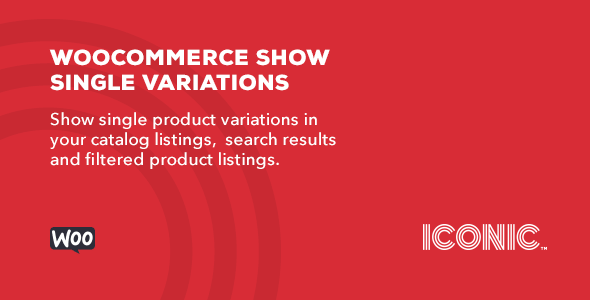 WooCommerce Show Single Variations v1.1.4
